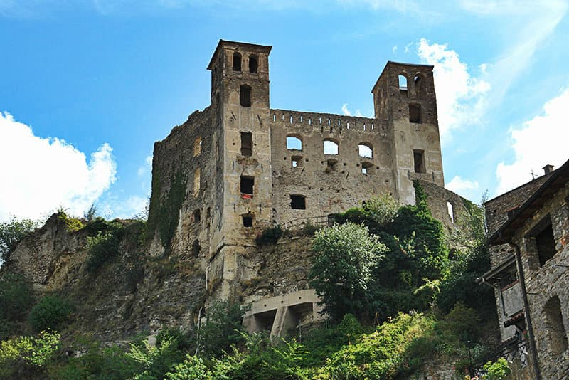 A castle of Doria in Dolceaqua, in Liguria