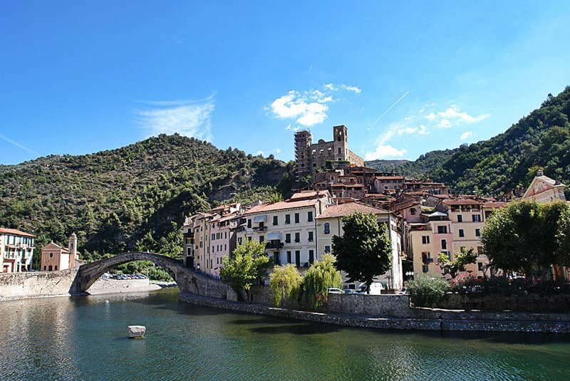 The beautiful city of Dolceacqua