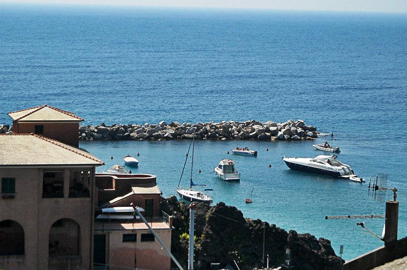 View of the sea in Levanto