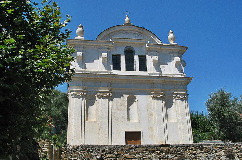 A church in Moltedo, Liguria