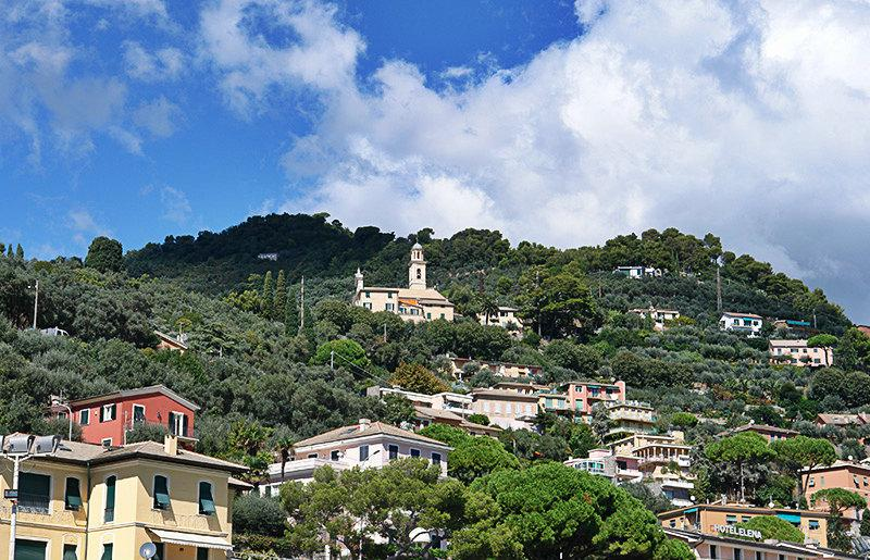 A wonderful view of the holiday destination Recco