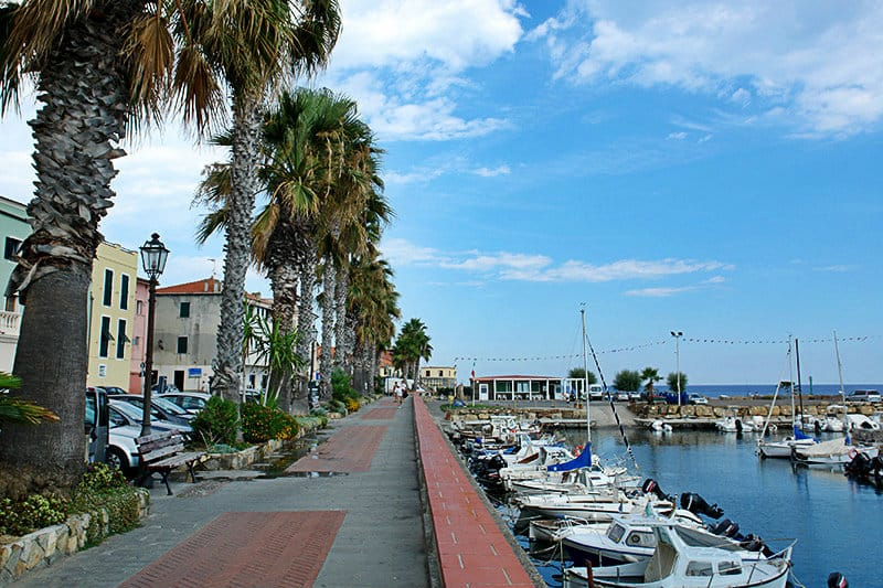 A beautiful port of Riva Ligure