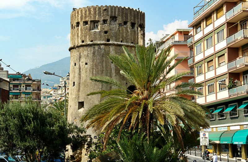 A tower in Sanremo