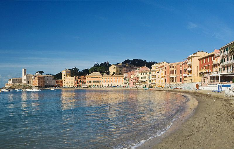 A beautiful panoramic view from Sestri Levante