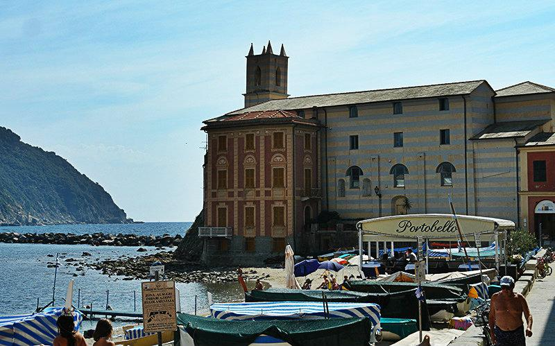 A beautiful view of Sestri Levante and its port