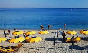 Best sandy beaches in Liguria
