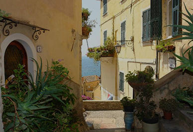 Romantic lanes of Cervo