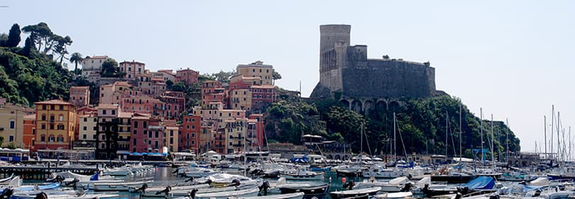 Castello di Lerici in Ligurien