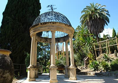 The Hanbury Gardens in Liguria