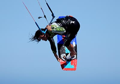 Kite Surfing in Liguria