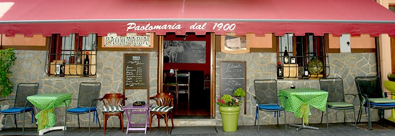 PaoloMaria restaurant in Liguria