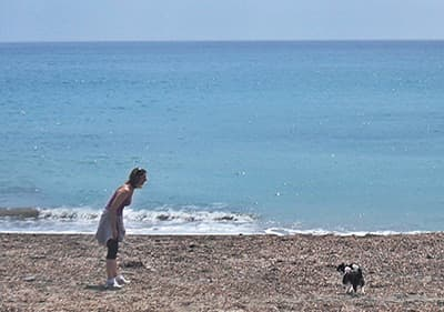Dog beach in San Lorenzo al Mare