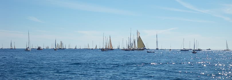 Sailing boats in Imperia, Liguria
