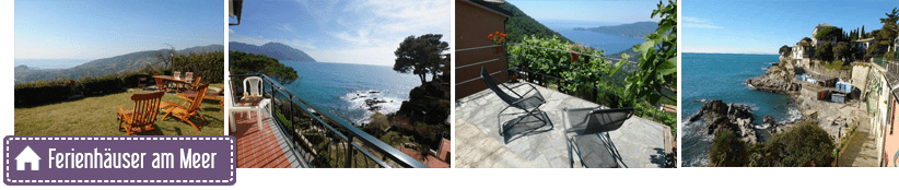 Holiday homes and rentals in the province of Genoa