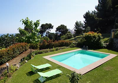 Villa Paradiso   Holiday House With Pool In Liguria
