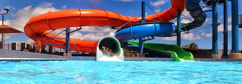 Waterpark in Liguria, Italy