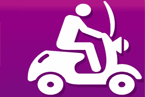QuaDTeca Scooter Rentals in Liguria