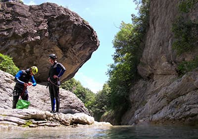 Canyoning in Liguria - experience wild rides and conquer beautiful waterfalls