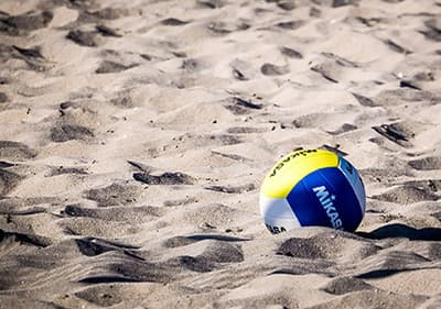 Enjoy beach volleyball along the Ligurian coastline in one of the plenty volleyball fields