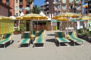 Bagni Morgana Beaches in Liguria