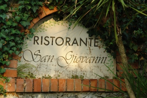 San Giovanni Restaurants in Liguria