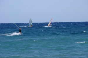 AKI Surfing Park sailboarding in Liguria