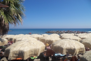 Baia Salata Beaches in Liguria
