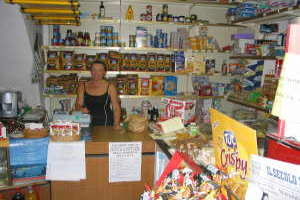 Girardi Grocery store in Liguria