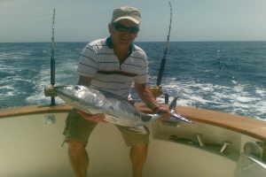Blue Water fishing Angeln in Liguria