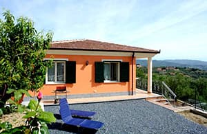Detached holiday home with a dog and close to the beach in Liguria