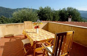 Charming holiday rental for holiday with a dog in an Agriturismo in Liguria