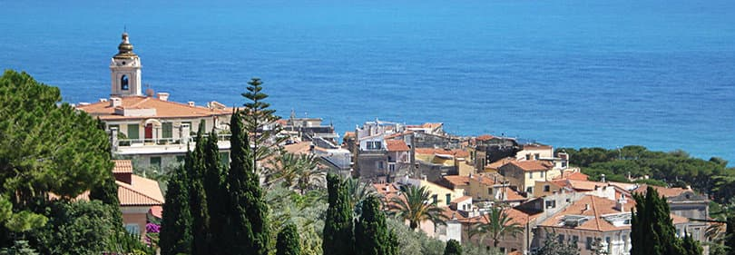 Bordighera in Liguria