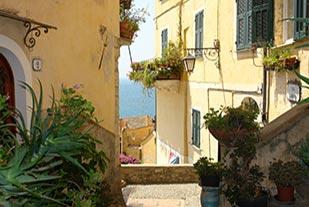 Beautiful view of Liguria
