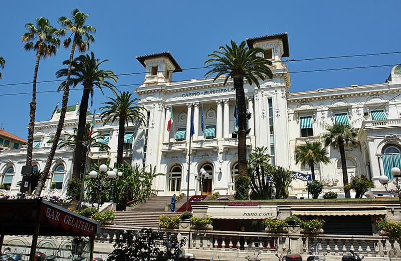 Casino di Sanremo - Glücksspiel und Unterhaltungszentrum in der Stadt der Blumen