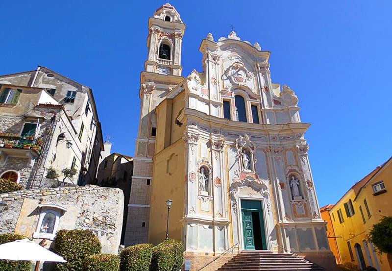 View of Chiesa Parrocchiale di San Giovanni Battista in Cervo