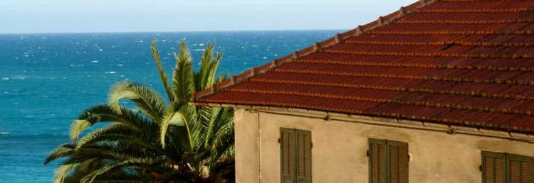 Holiday rental overlooking the sea in the heart of Cervo in Liguria