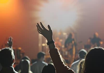 A concert in Liguria