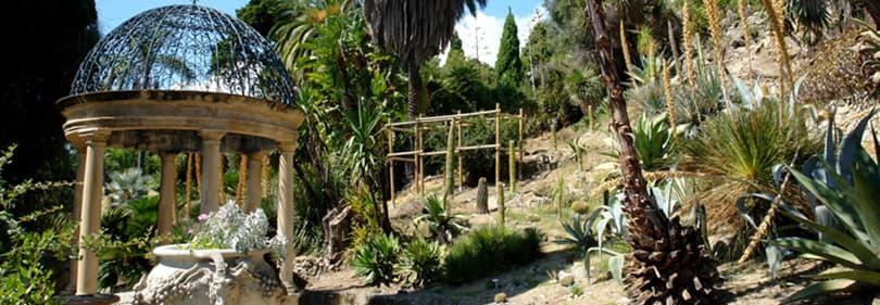 Botanical Hanbury Gardens in Liguria
