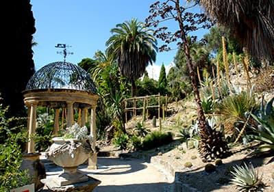 The Hanbury gardens in Liguria