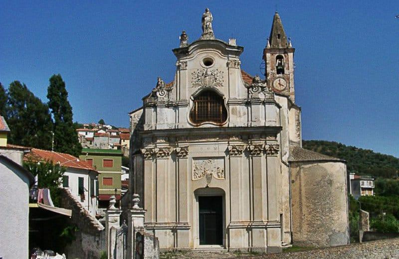 A church of Diano San Pietro