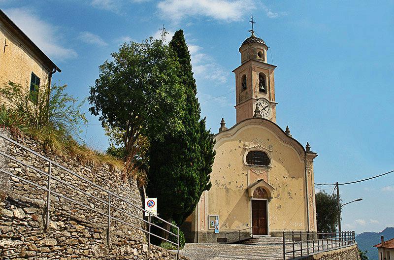 La chiesa parrocchiale di San Martino in Onzo