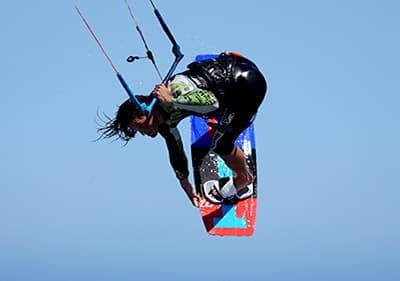Kite Surfing in Liguria