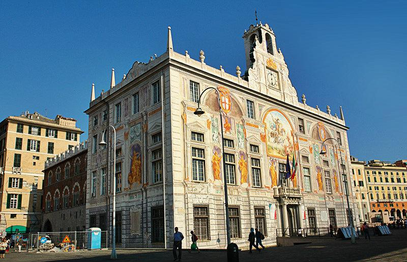 Palazzo delle Compere di San Giorgio in Genua