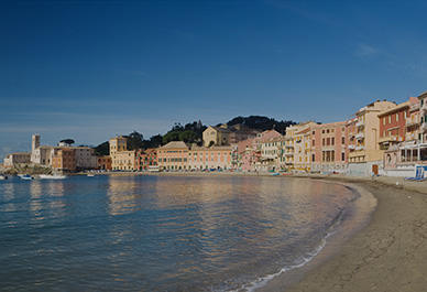 The wonderful scenery of Sestri Levante