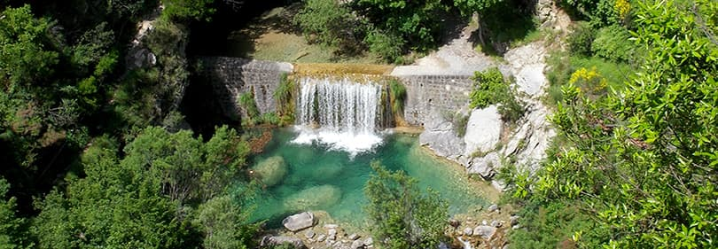 Laghetti Rocchetta di Nervina - perfect spot for canyoning