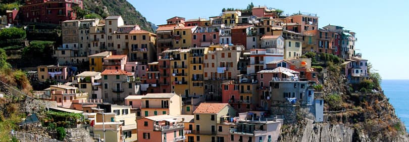 Cinque Terre, on of the best top 10 tourist attractions in Liguria