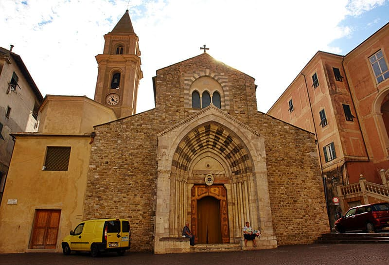 An old church in Ventimiglia