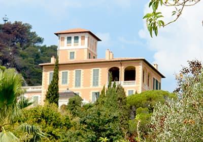 Villa Hanbury in Ventimiglia, Liguria