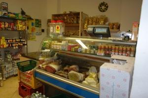 La Fortezza Grocery store in Liguria