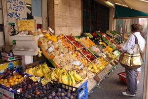 Pria Market Grocery store in Liguria